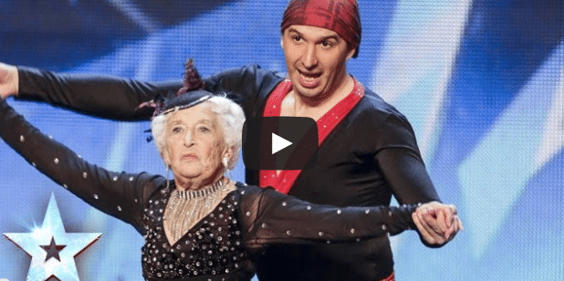 Watch this 79 year old s dreams come true on the britain s got talent stage
