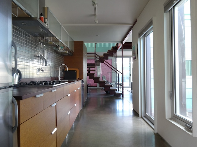 Six unit sustainable shipping container house 2