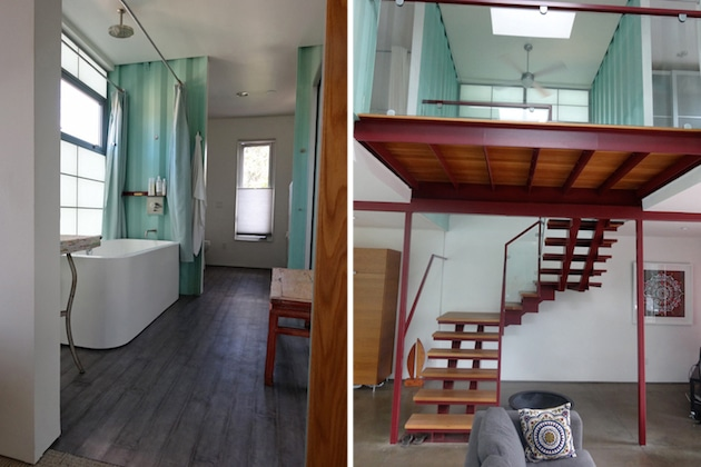Six unit sustainable shipping container house 6