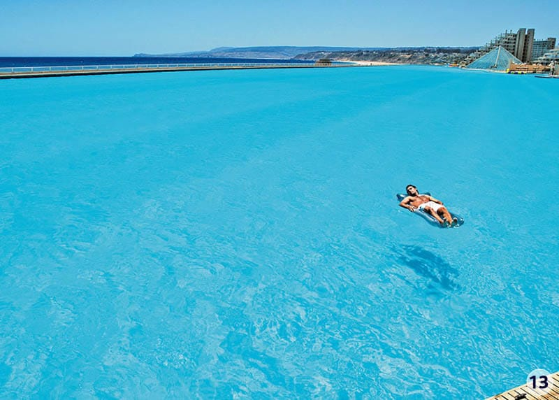 Worlds largest swimming pool 5