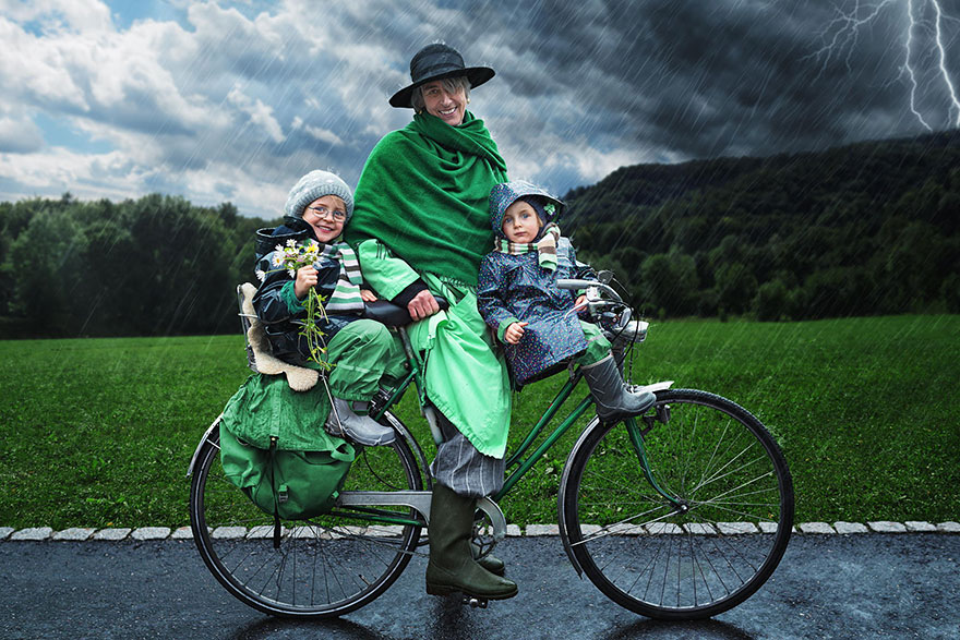 Creative dad children photo manipulations john wilhelm 15