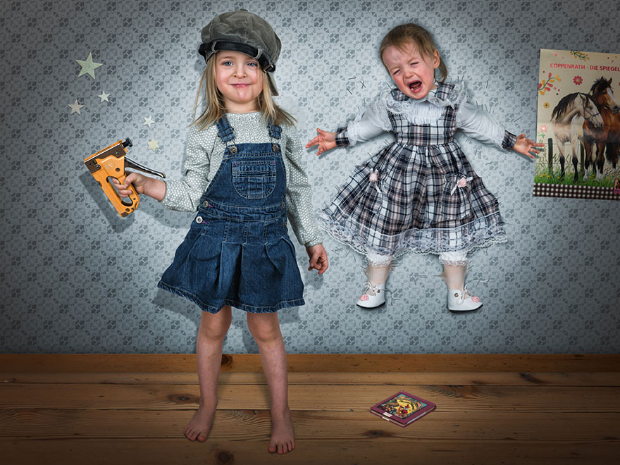 Creative dad children photo manipulations john wilhelm 18