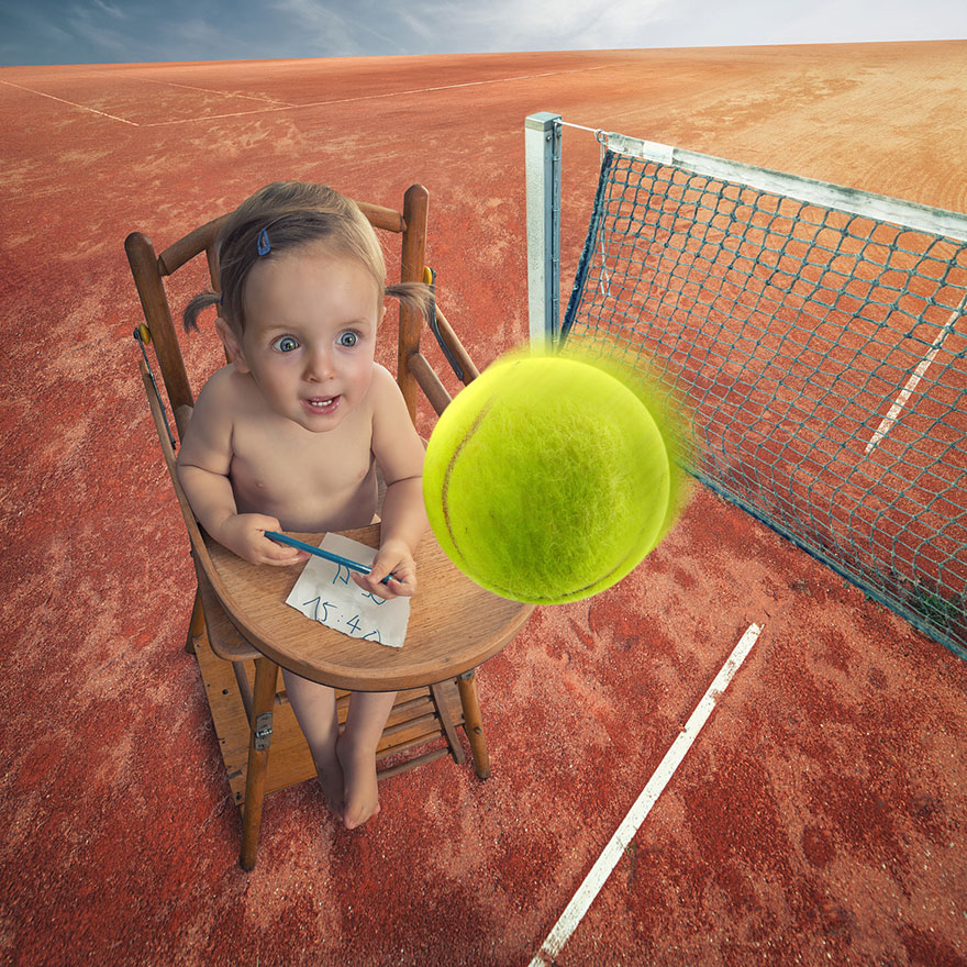 Creative dad children photo manipulations john wilhelm 9