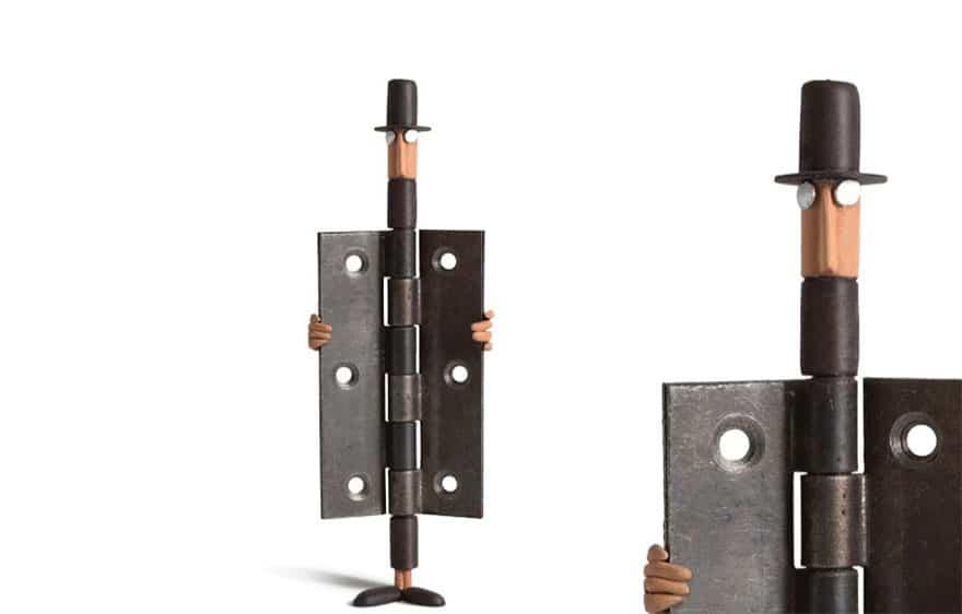 Everyday object sculptures gilbert legrand 2