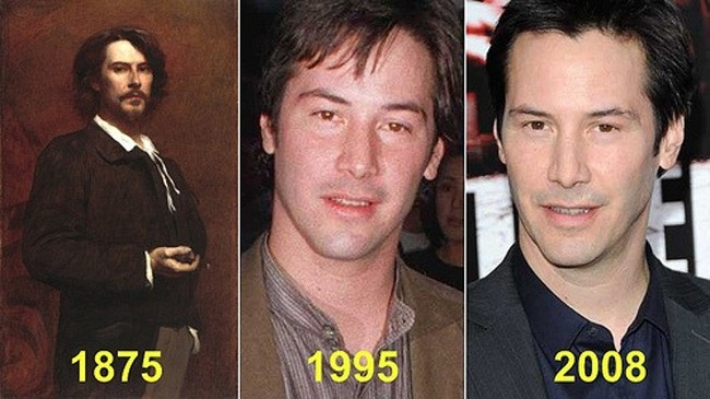 Celebrities and their historical look alikes i am certain nicolas cage is a time traveler 19 934x