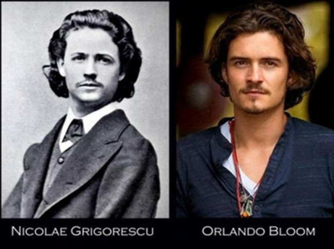 Celebrities and their historical look alikes i am certain nicolas cage is a time traveler 25 934x