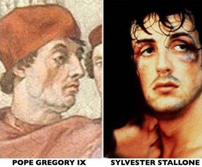 Celebrities and their historical look alikes i am certain nicolas cage is a time traveler 3 934x