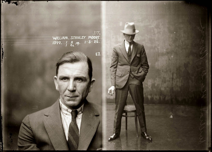 Cool police mugshots 1920 william