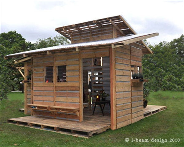 Pallet house2