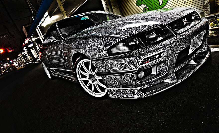 gribouillage voiture10