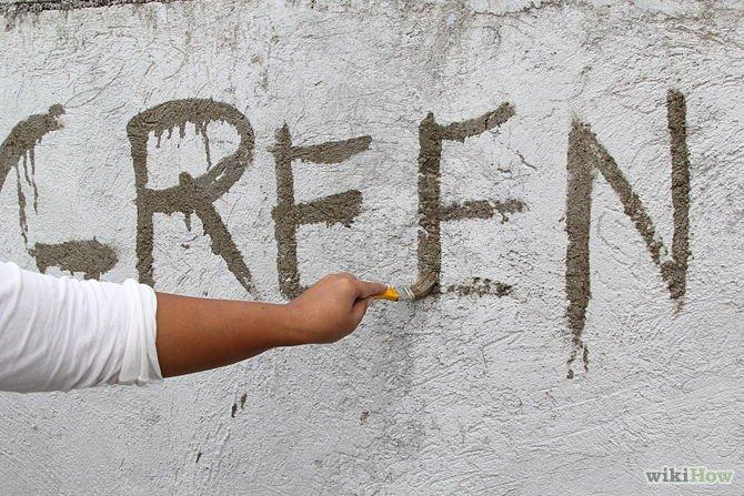 Graffiti mousse 8