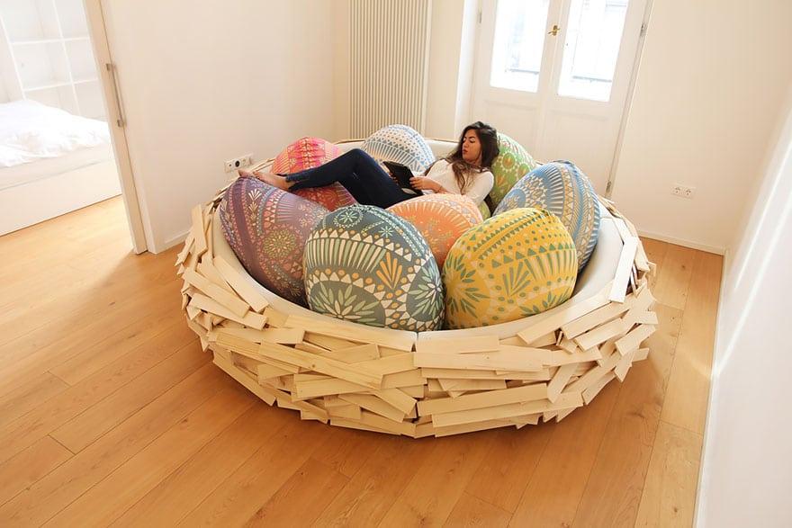 lit nid oiseau 1