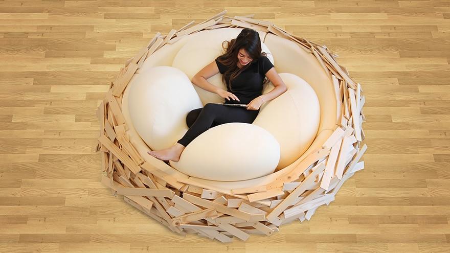 lit nid oiseau 5