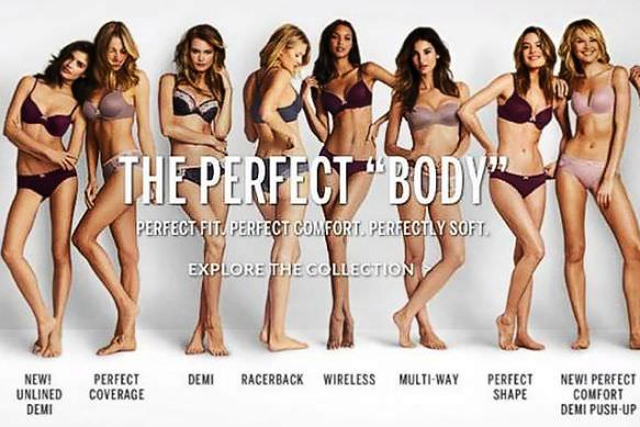 victoria secret perfect body