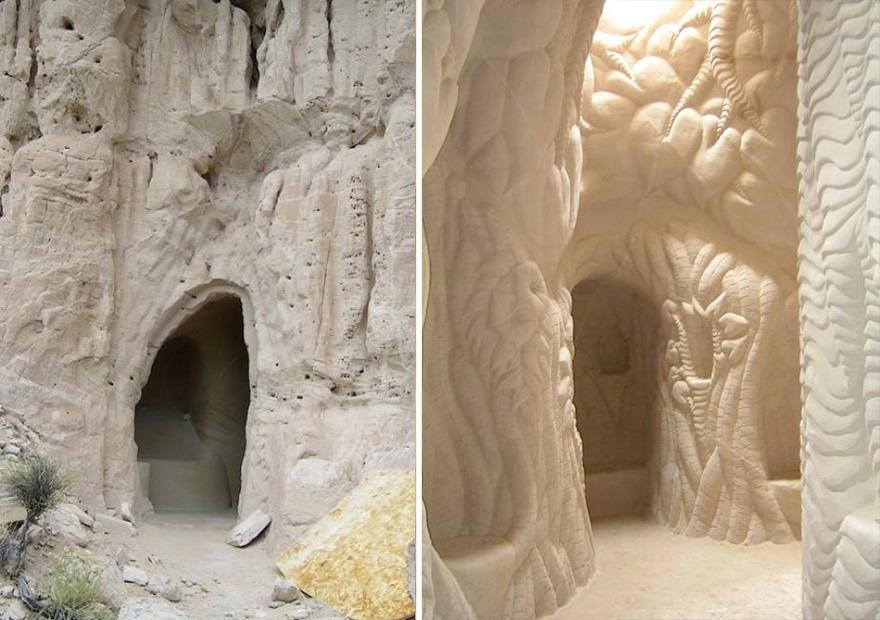 Artiste grotte 18