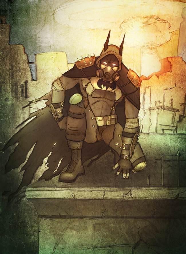 Batman au fil des epoques 13