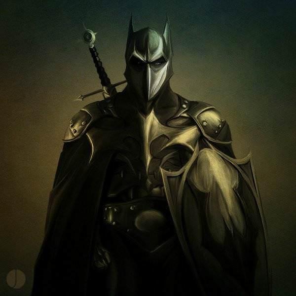 Batman au fil des epoques 16