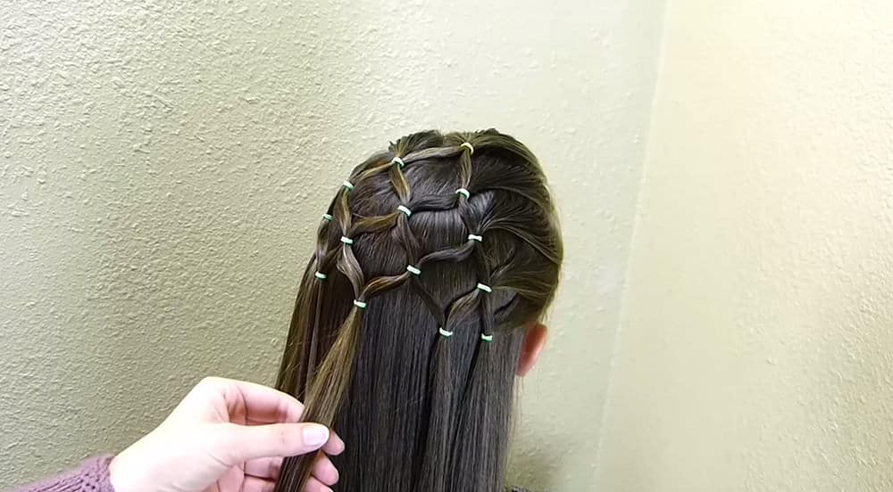 coiffure sapin de noel 12