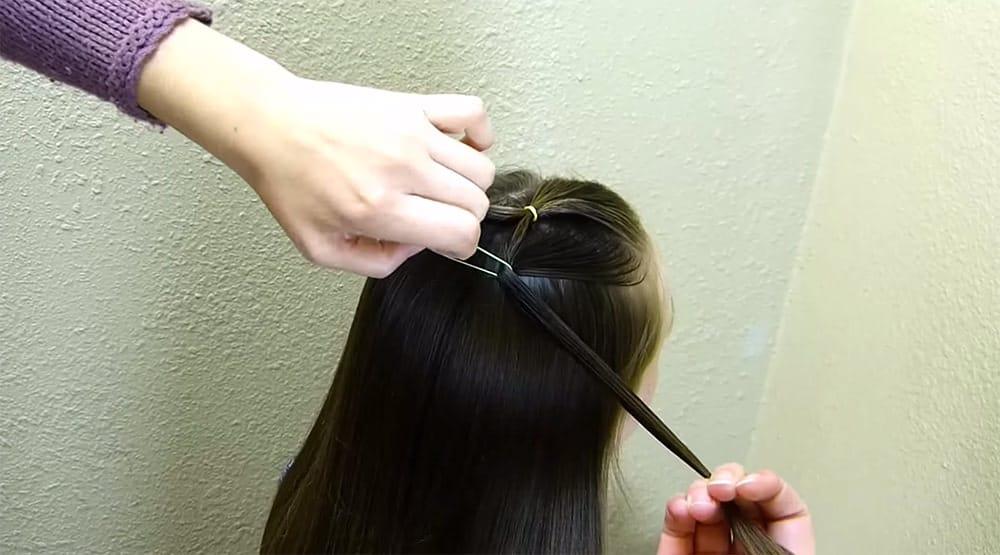 coiffure sapin de noel 5