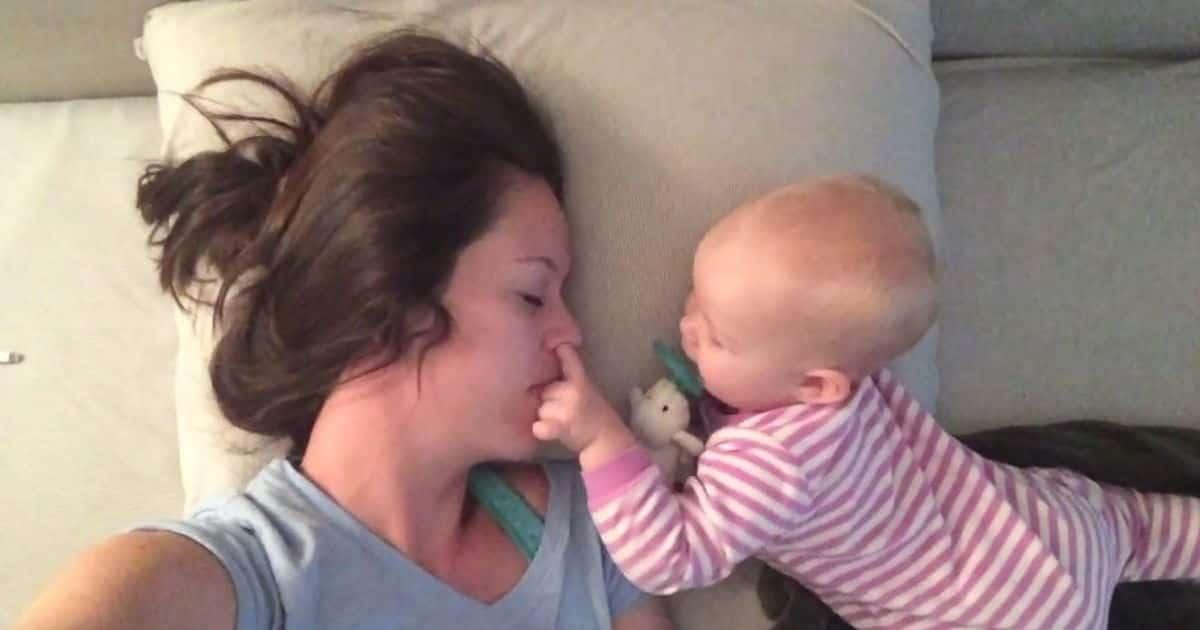 Dormir avec un bebe