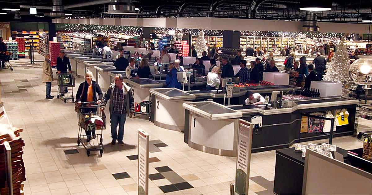 Supermarche noel
