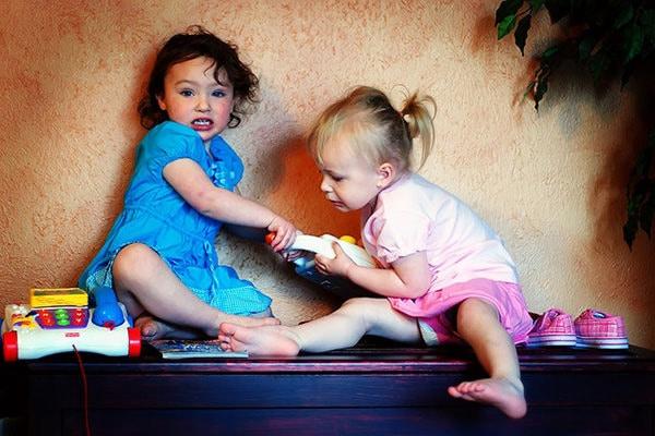 Enfants ne partagent pas