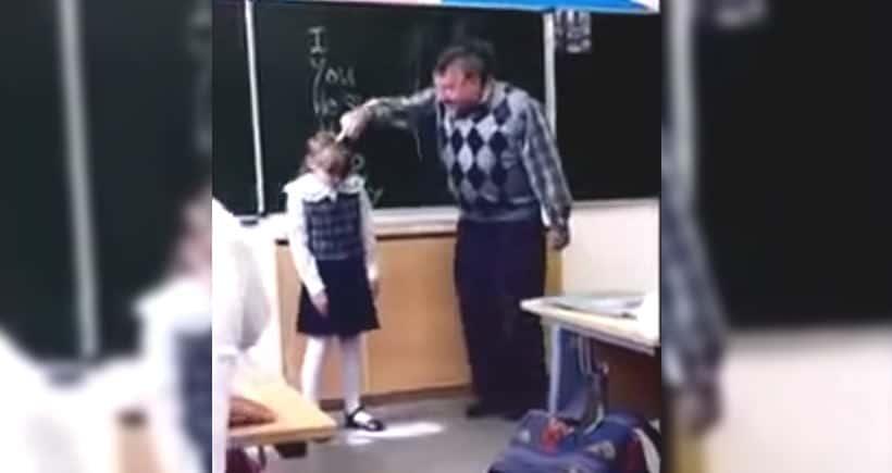 Enseignant humilie