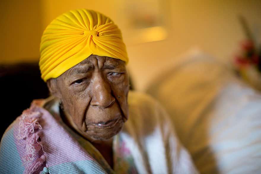 Femme centenaire 1