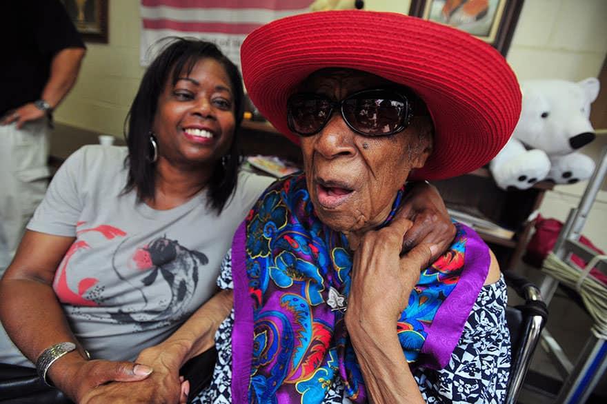 femme centenaire 2