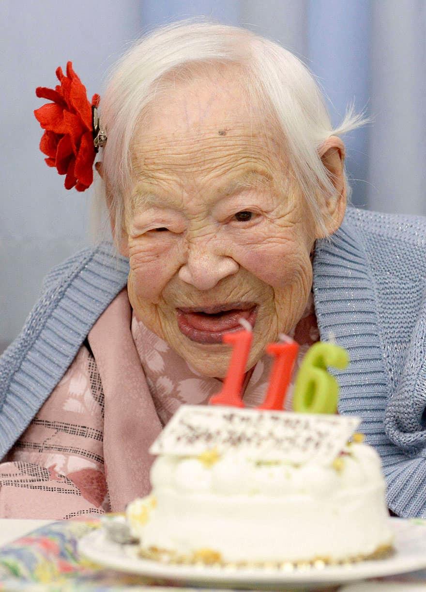 Femme centenaire 3