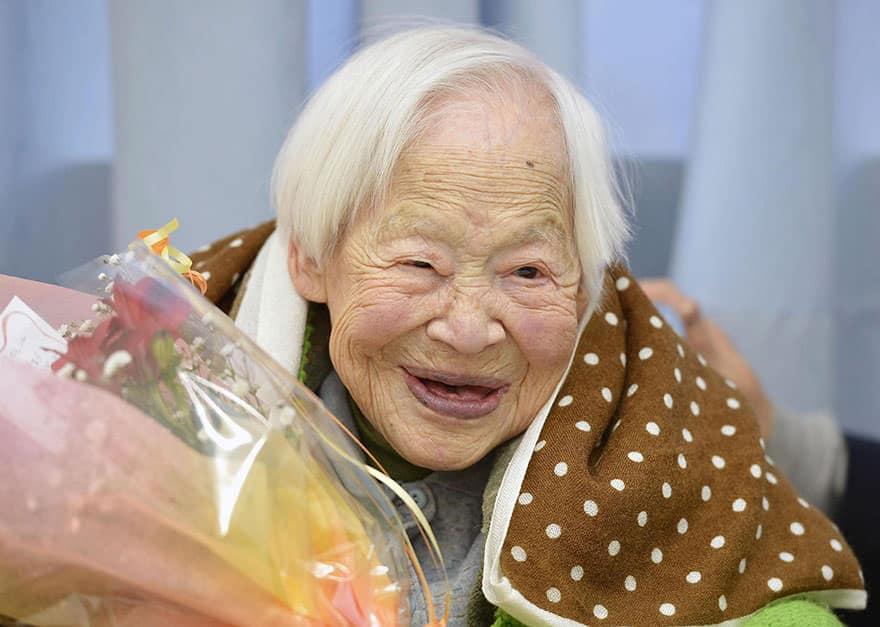 Femme centenaire 4