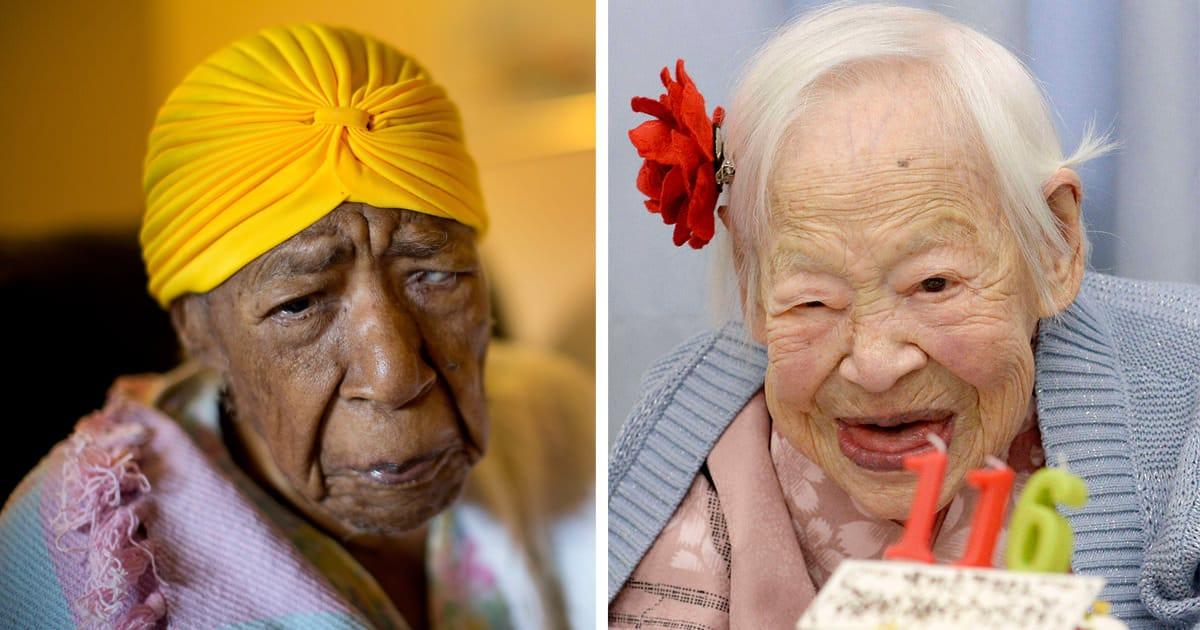 Femme centenaire fb