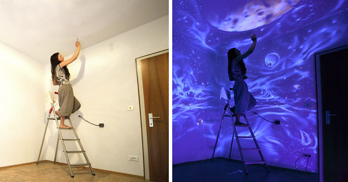Lumieres peintures mur fb