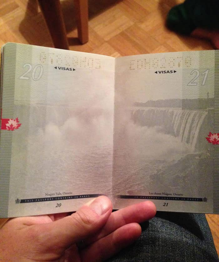 Passeport canadien 10