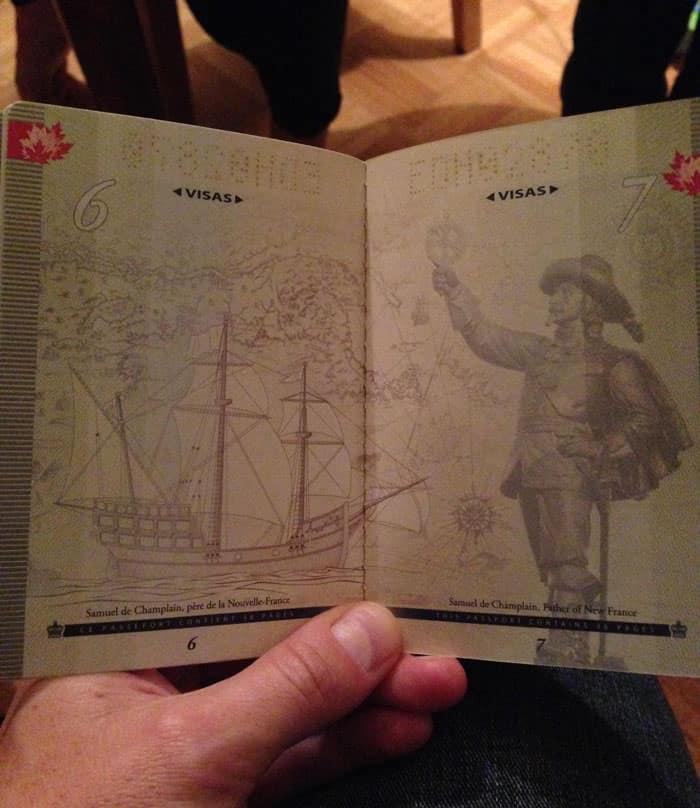 Passeport canadien 8
