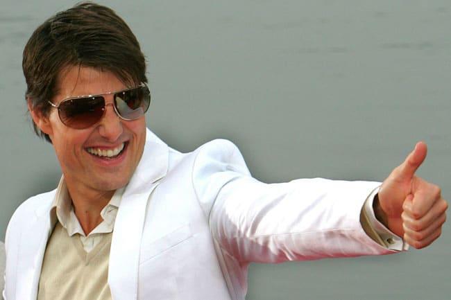Cette liste est approuvée par Tom Cruise, lui-même gaucher!
