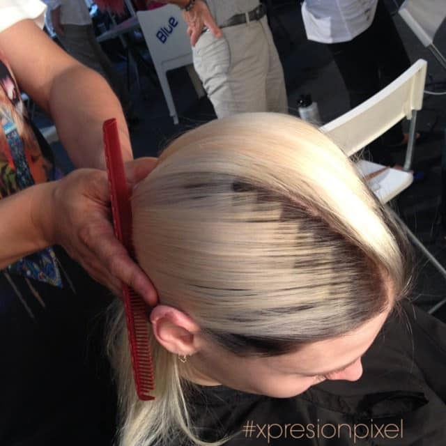 Cheveux pixelises 6