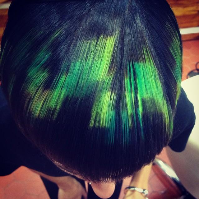 Cheveux pixelises 7