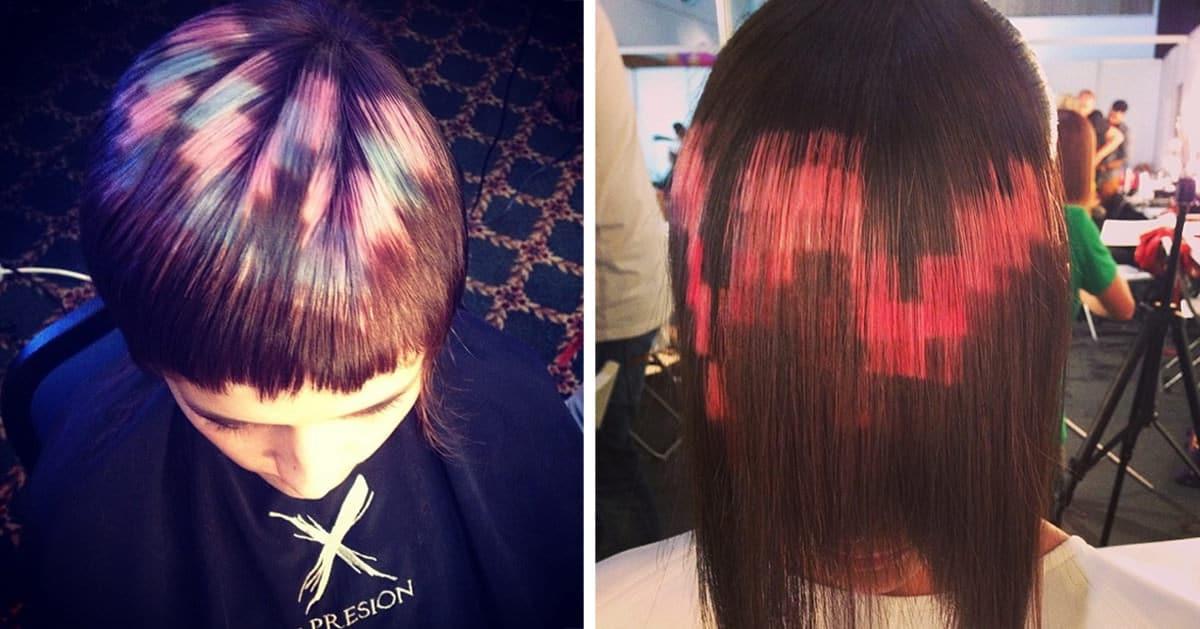 Cheveux pixelises fb