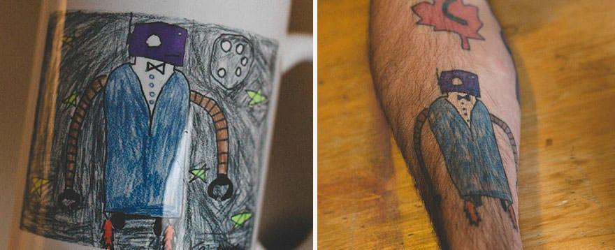 Papa tatouage 3