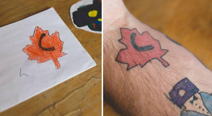 Papa tatouage 5