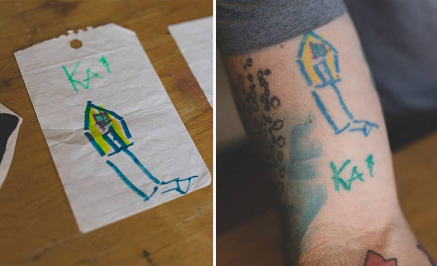 Papa tatouage 8