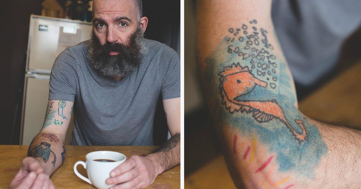 Papa tatouage fb