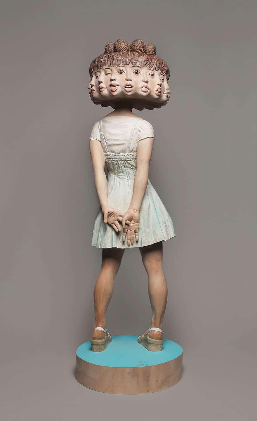 Sculpture bois 10