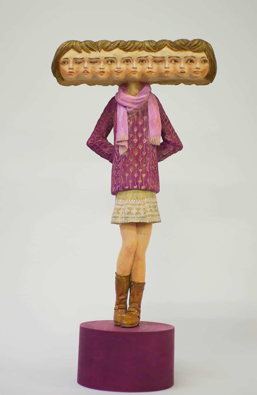 Sculpture bois 13