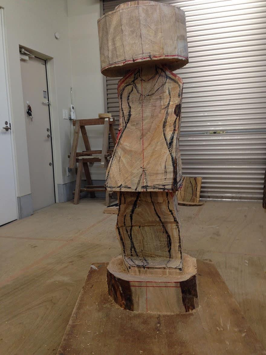 Sculpture bois 6