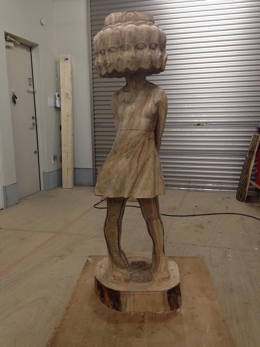 Sculpture bois 7