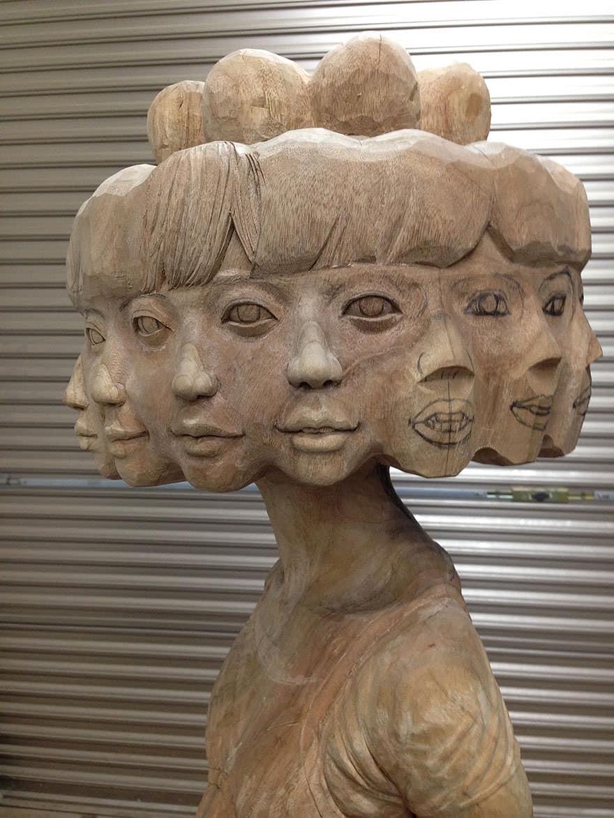 Sculpture bois 8