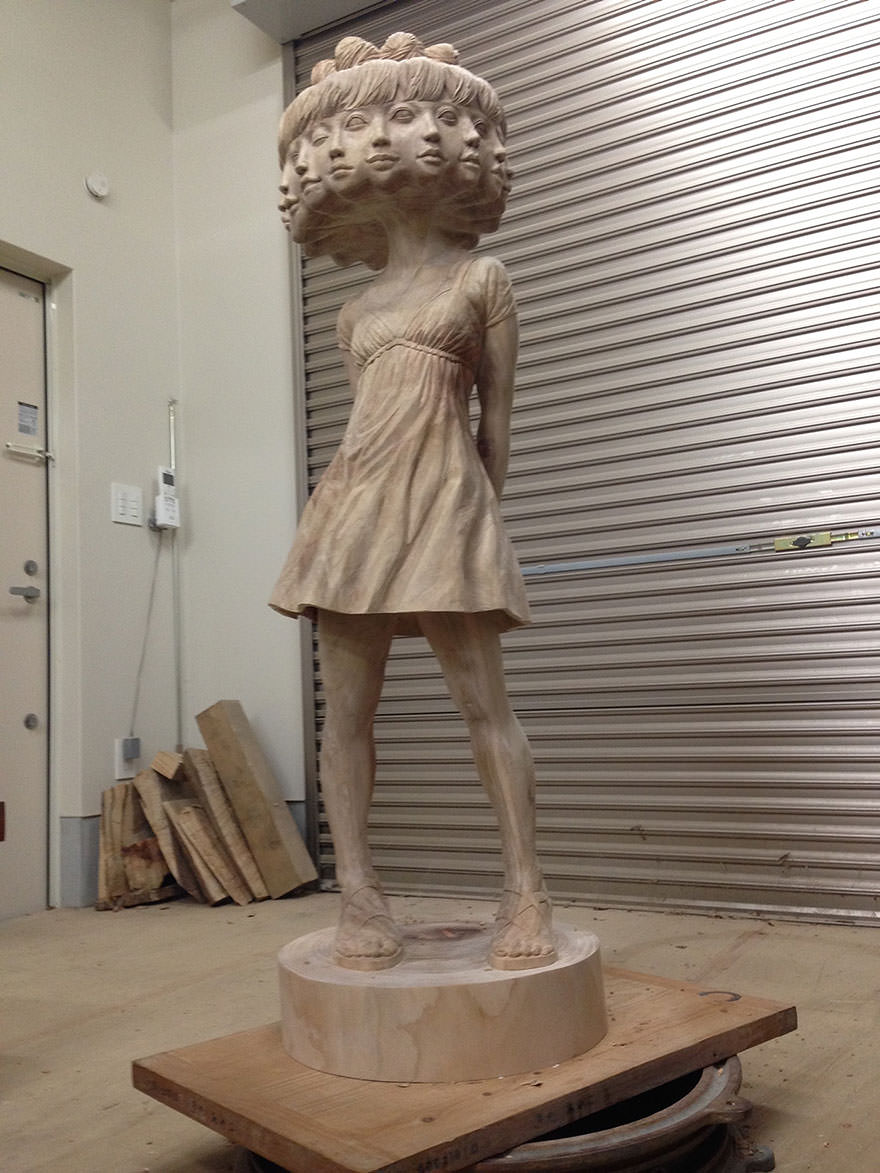 Sculpture bois 9