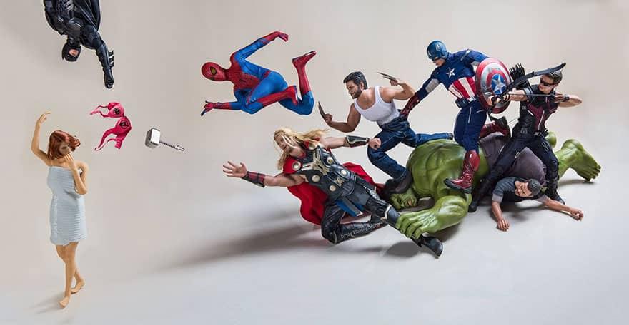Vie secrete superheros 16